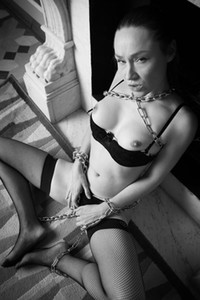 Model Sara K in Chained Desire