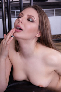 Model Maxine B in Erotic Sperm 1