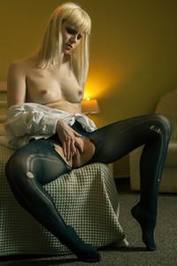 Model Alice Crowley in Lemon Acid 1